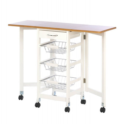 Kitchen Trolley Extended Table