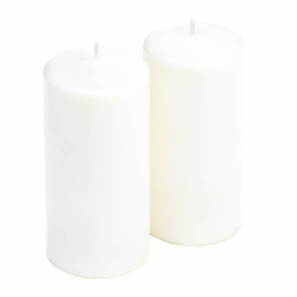Unscented White Pillar Duo