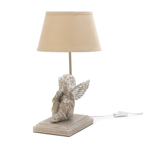 Thoughtful Angel Table Lamp