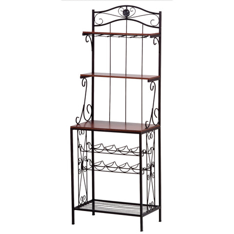 Bakers Style Wine & Glass Rack