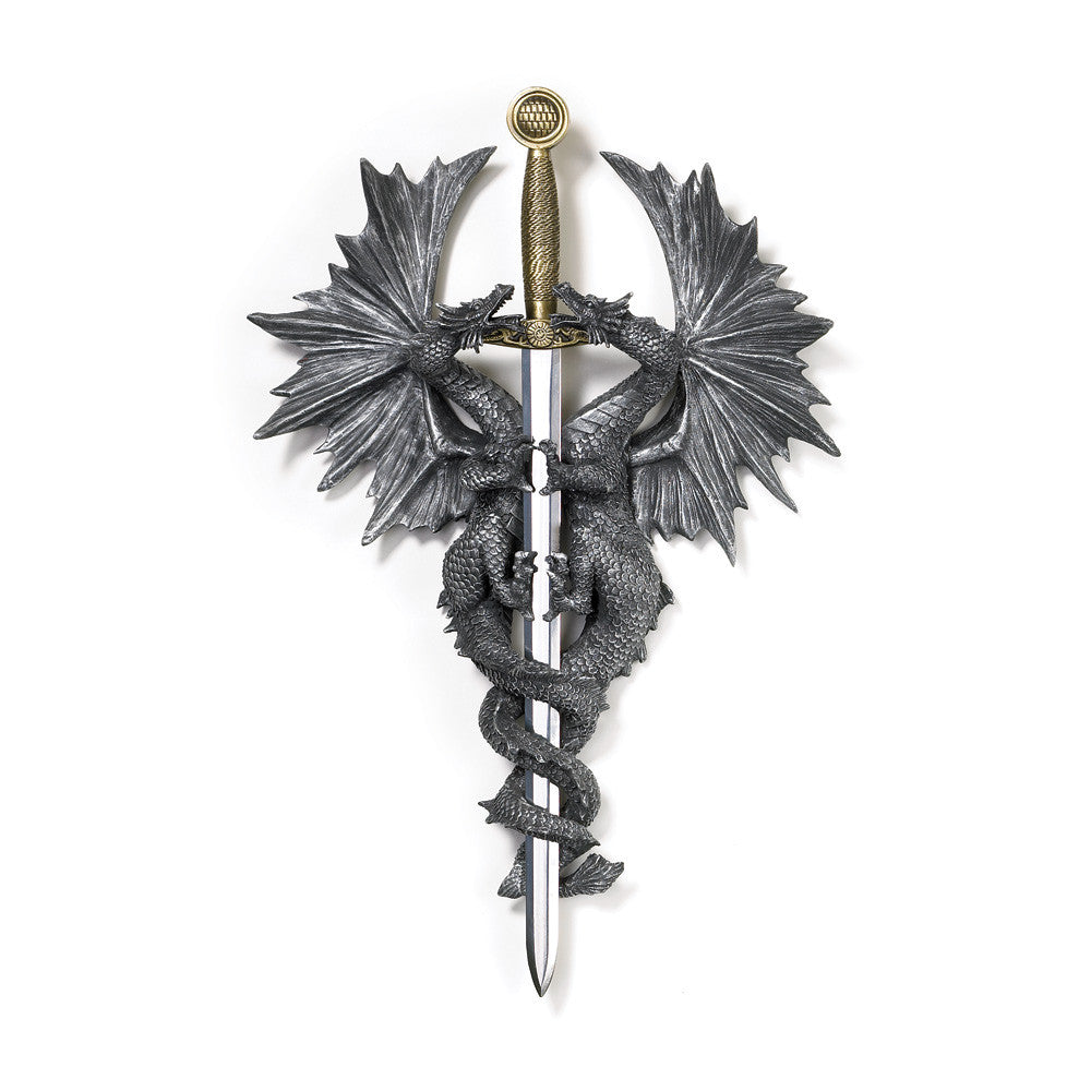 Dragon Dagger Wall Plaque