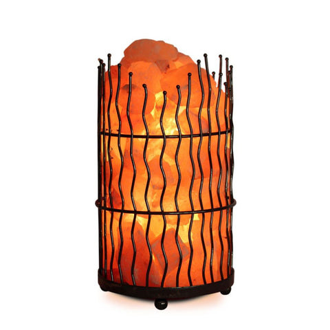 Himalayan Salt Chunks Pillar Lamp