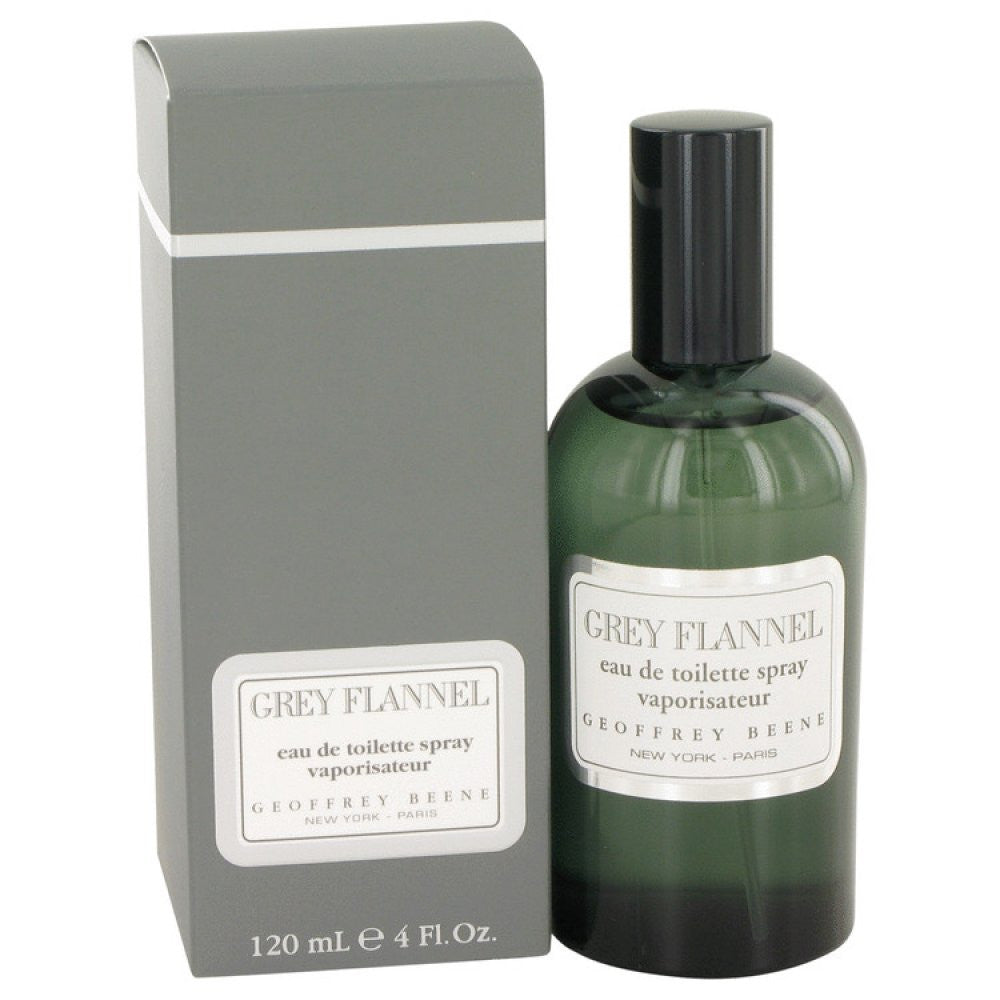 Grey Flannel By Geoffrey Beene Eau De Toilette Spray 4 Oz