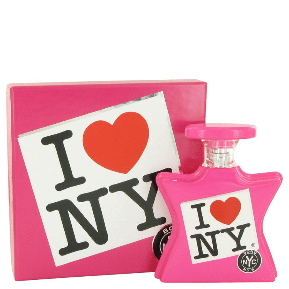 I Love New York By Bond No. 9 Eau De Parfum Spray (pink) 3.4 Oz