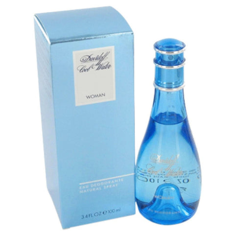 Cool Water By Davidoff Deodorant Spray 3.3 Oz
