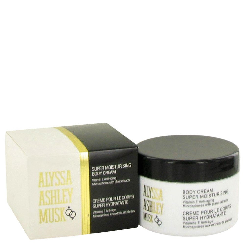 Alyssa Ashley Musk By Houbigant Body Cream 8.5 Oz