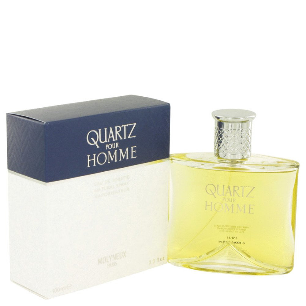 Quartz By Molyneux Eau De Toilette Spray 3.4 Oz