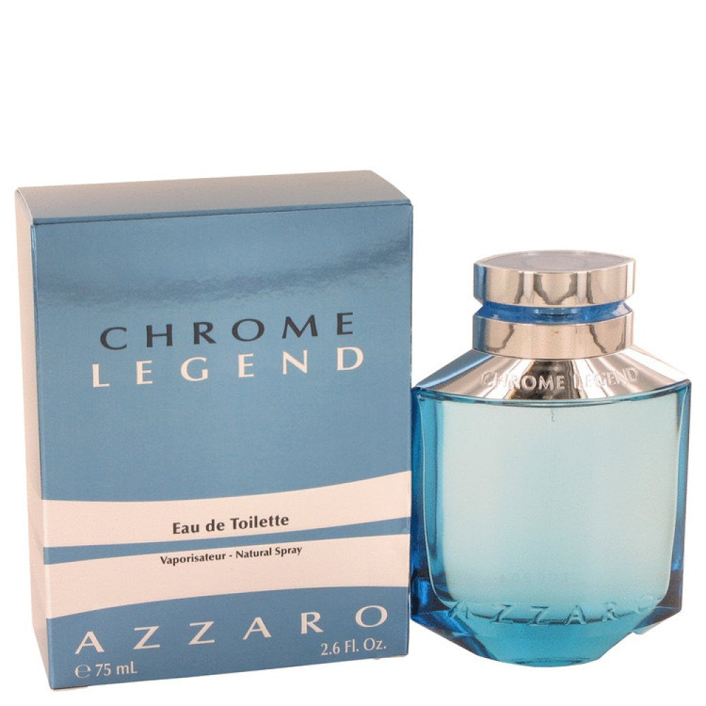 Chrome Legend By Azzaro Eau De Toilette Spray 2.6 Oz