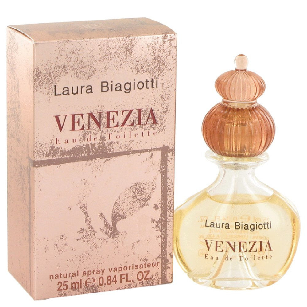 Venezia By Laura Biagiotti Eau De Toilette Spray .84 Oz