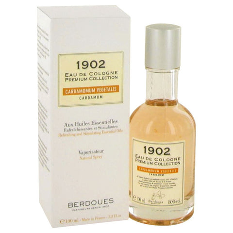 1902 Cardamom By Berdoues Eau De Cologne Spray 3.3 Oz