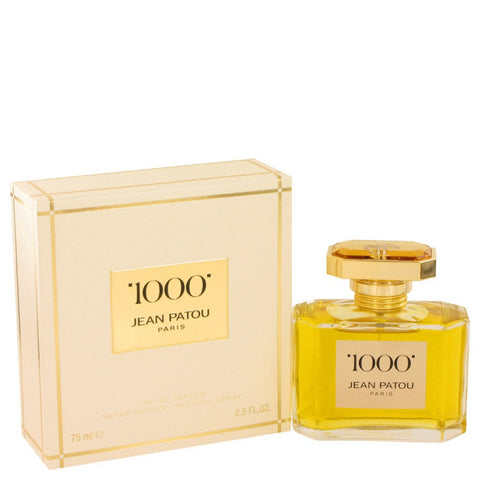 1000 By Jean Patou Eau De Parfum Spray 2.5 Oz