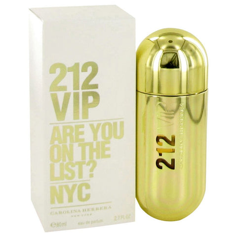 212 Vip By Carolina Herrera Eau De Parfum Spray 2.7 Oz