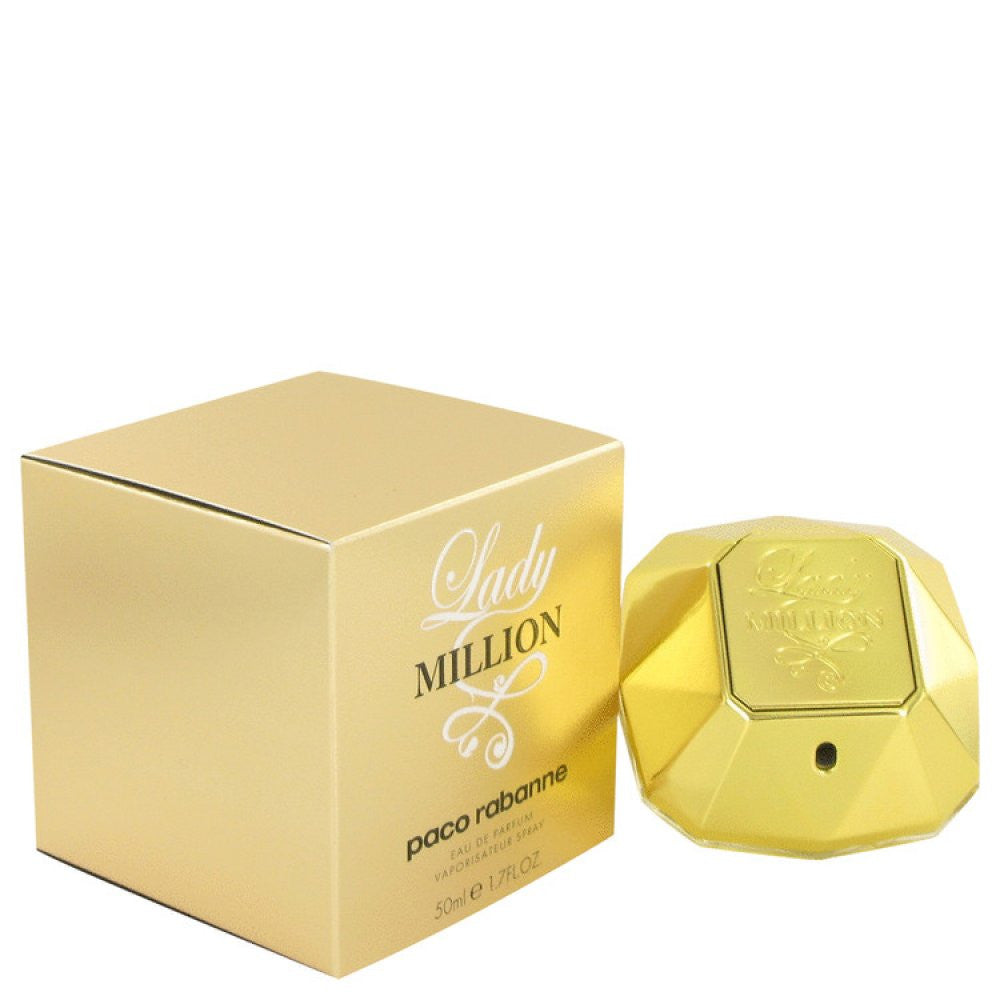 Lady Million By Paco Rabanne Eau De Parfum Spray 1.7 Oz