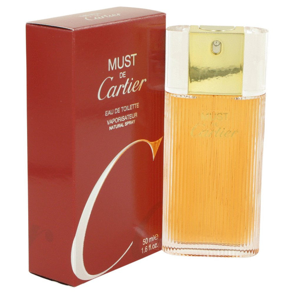 Must De Cartier By Cartier Eau De Toilette Spray 1.6 Oz
