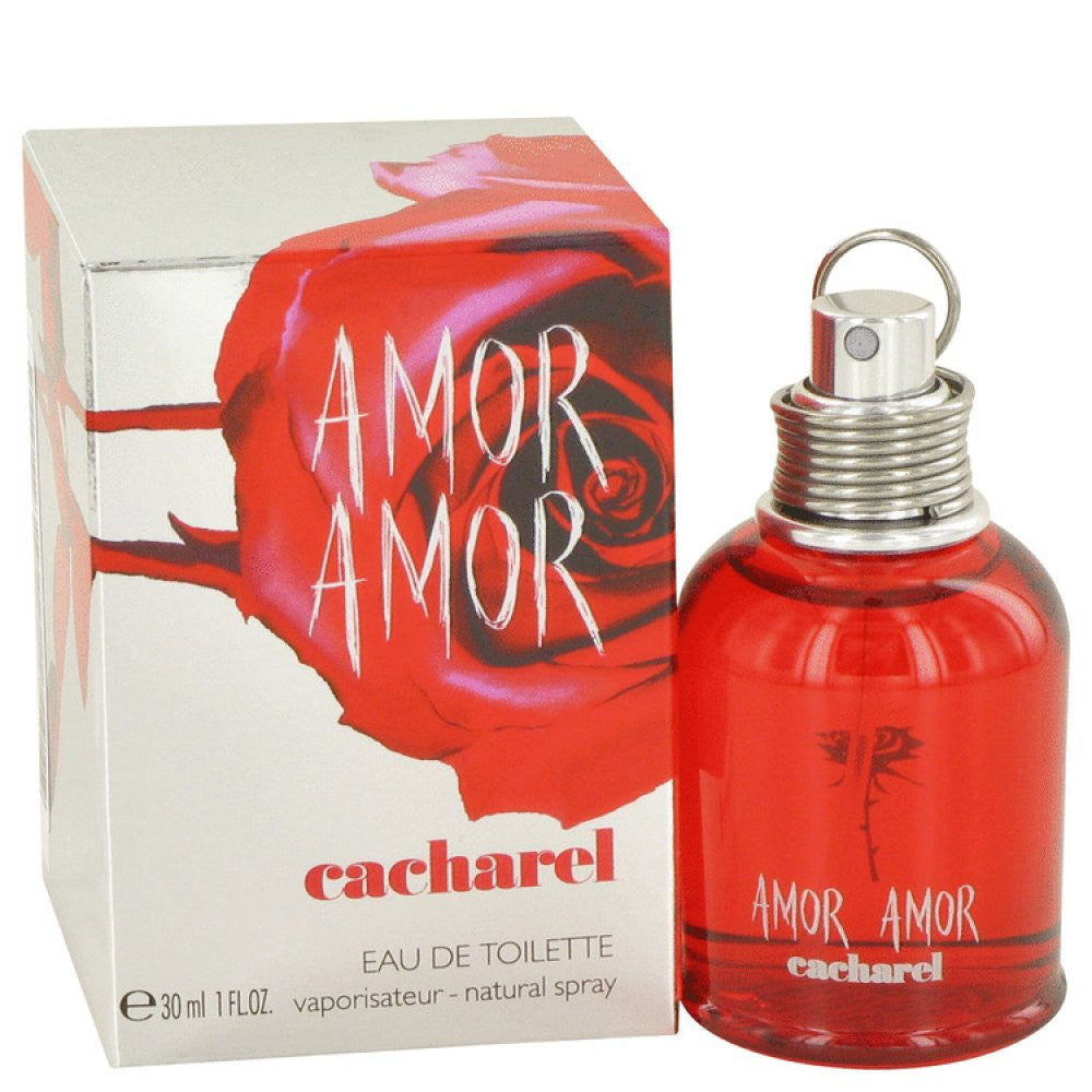 Amor Amor By Cacharel Eau De Toilette Spray 1 Oz