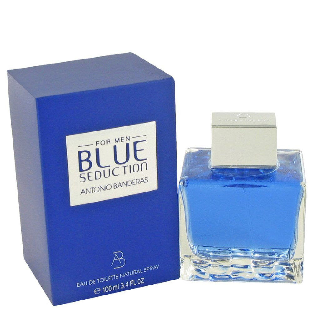 Blue Seduction By Antonio Banderas Eau De Toilette Spray 3.4 Oz