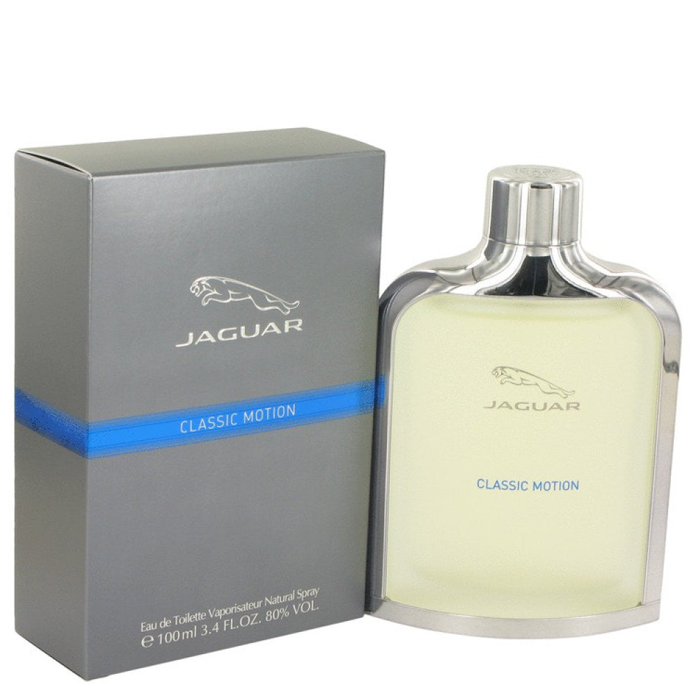 Jaguar Classic Motion By Jaguar Eau De Toilette Spray 3.4 Oz