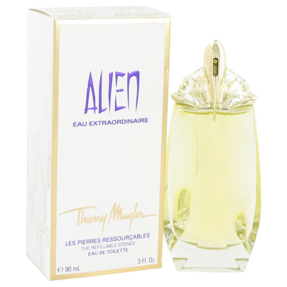 Alien Eau Extraordinaire By Thierry Mugler Eau De Toilette Spray Refillable 3 Oz