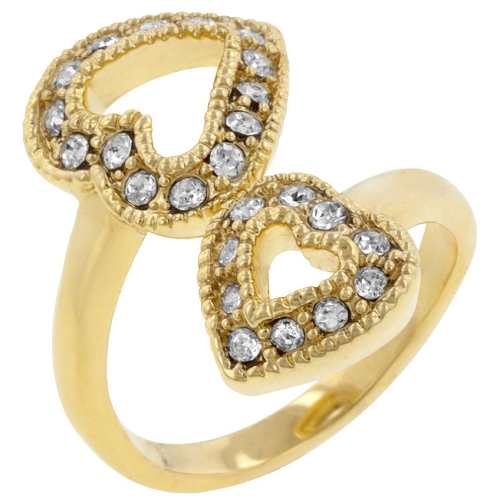 Heart-to-heart Ring (size: 06)