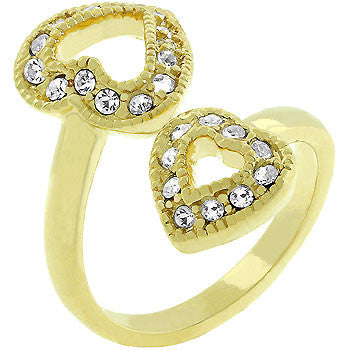 Heart-to-heart Ring (size: 10)