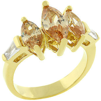 Champagne Wishes Ring (size: 05)
