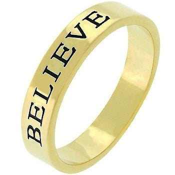 Believe Ring (size: 08)