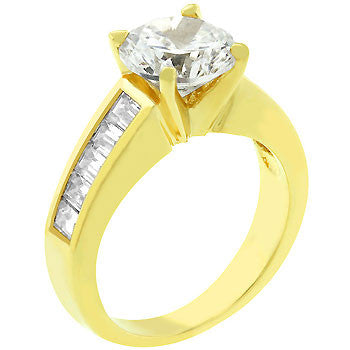 For Her Anniversary Ring In Gold (size: 06)