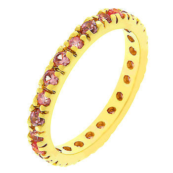 Pink Eternity Ring (size: 08)