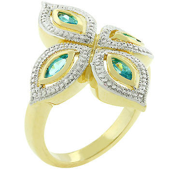 Aqua Luxe Ring (size: 05)