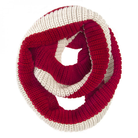 Vera Red Infinity Scarf