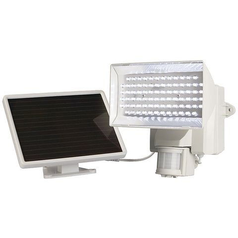 Maxsa Innovations Solar-powered 80 Led Motion-activated Outdoor Security Floodlight (white)