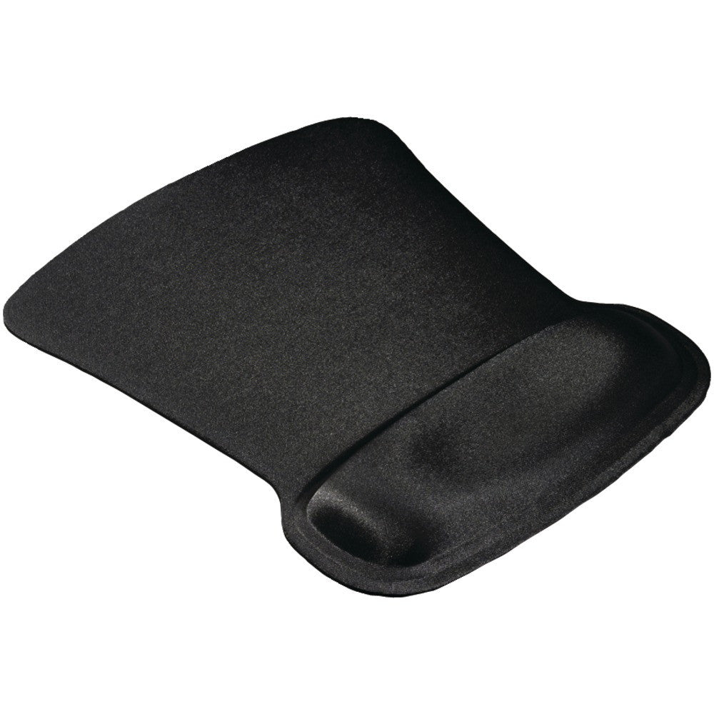 Allsop Ergoprene Gel Mouse Pad With Wrist Rest (black)