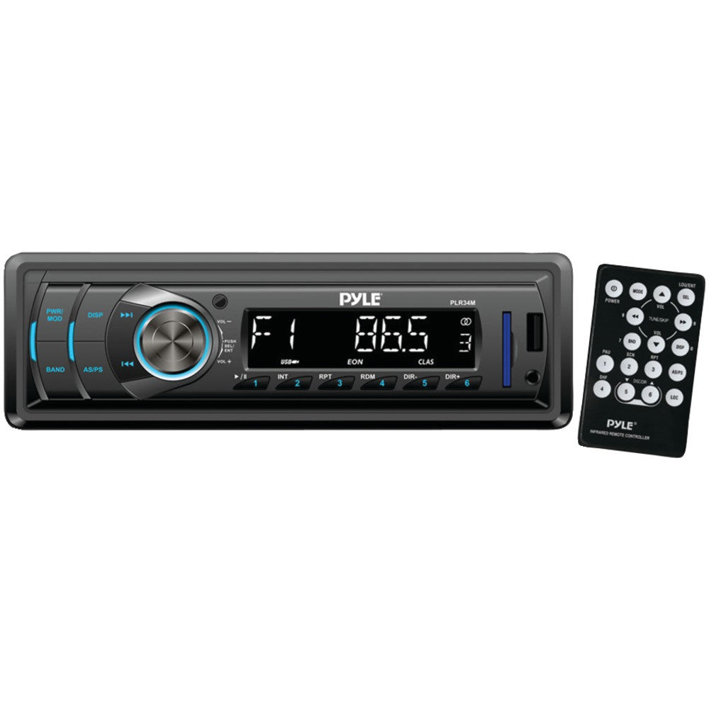 Pyle Single-din In-dash Mechless Receiver