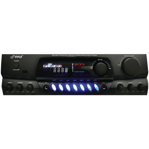 Pylehome 200-watt Digital Am And Fm Stereo Receiver