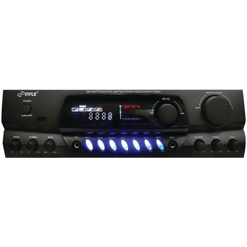 Pyle Home 200-watt Digital Am And Fm Stereo Receiver
