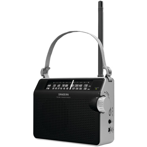 Sangean Am And Fm Compact Analog Radio (black)