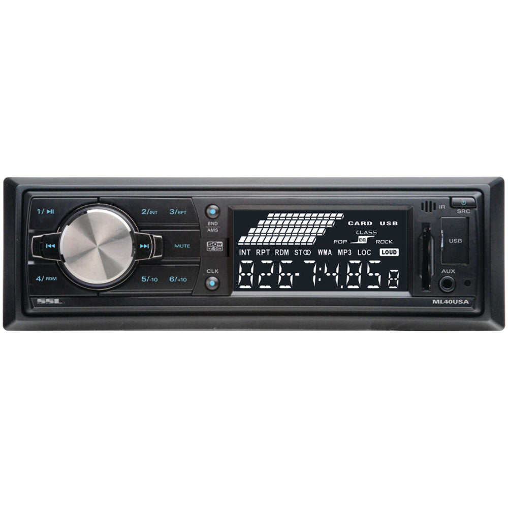 Soundstorm Single-din In-dash Mechless Receiver
