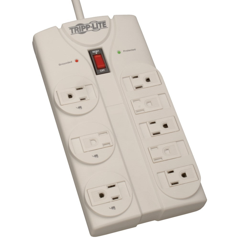 Tripp Lite 8-outlet Surge Protector (1440 Joules; 8-ft Power Cord; $75000 Ultimate Lifetime Insuran