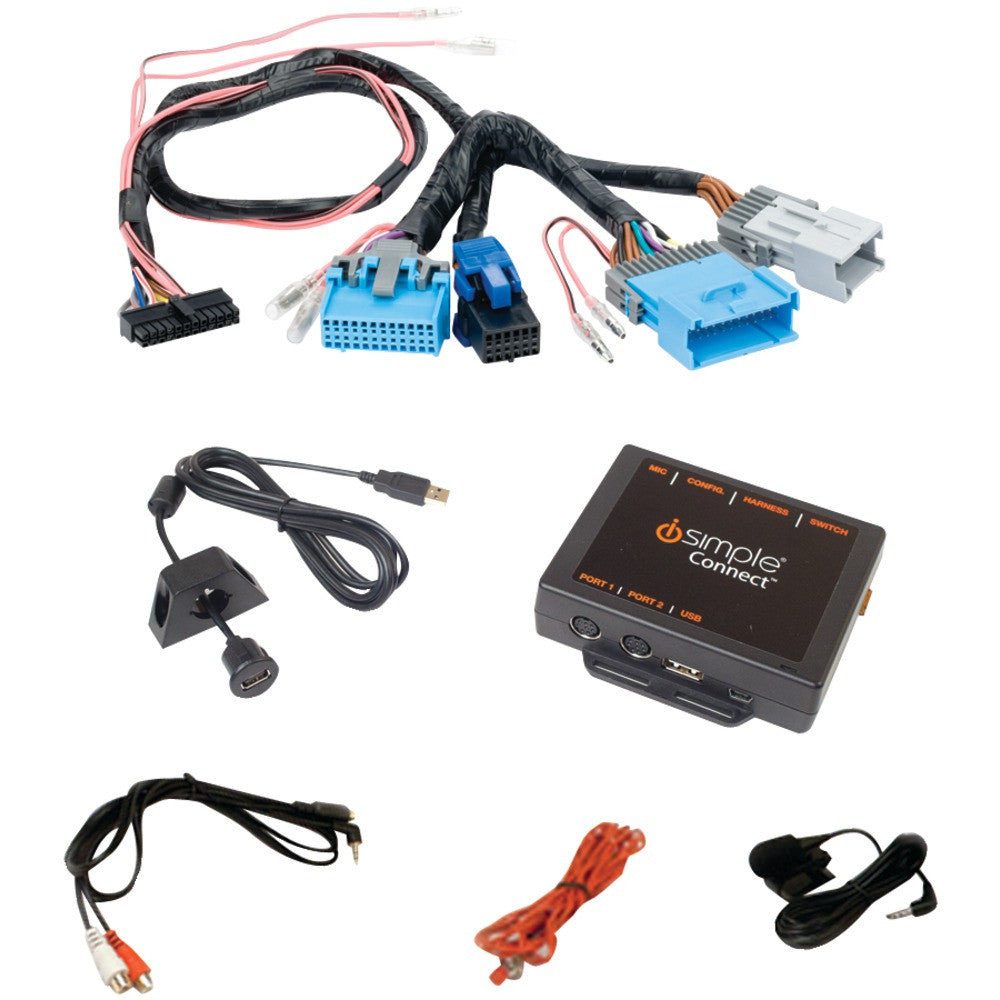 Isimple Droid Ipad And Iphone And Ipod & Other Smartphones Factory Radio Interface (for Select Gm Vehicles)