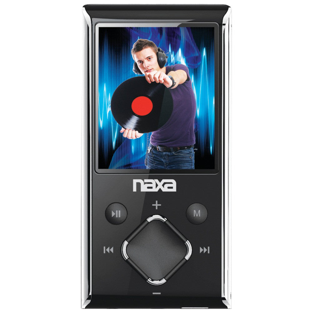 "Naxa 4gb 1.8"" Lcd Portable Media Player (silver)"