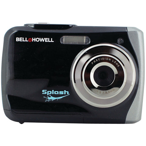 Bell+howell 12.0 Megapixel Wp7 Splash Waterproof Digital Camera (black)
