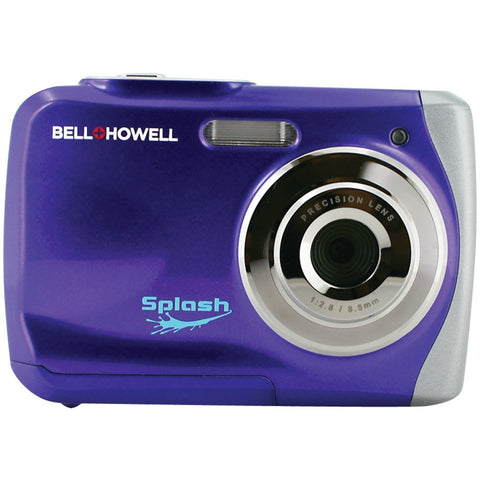 Bell+howell 12.0 Megapixel Wp7 Splash Waterproof Digital Camera (purple)