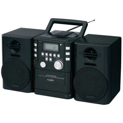 Jensen Portable Cd Music System With Cassette & Fm Stereo Radio