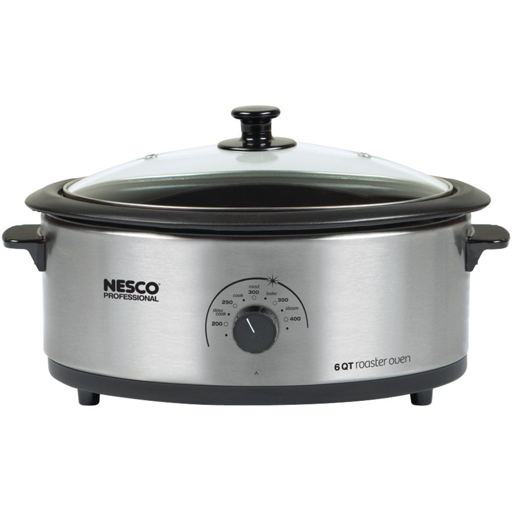 Nesco 6-quart Nonstick Roaster Oven (stainless Steel)