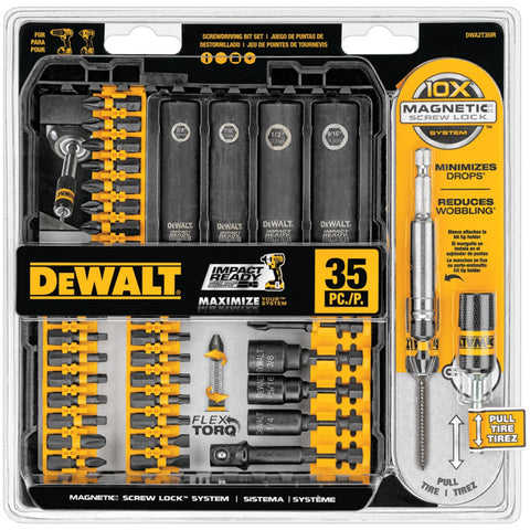 Dewalt 35-piece Impact-ready Screwdriver Set