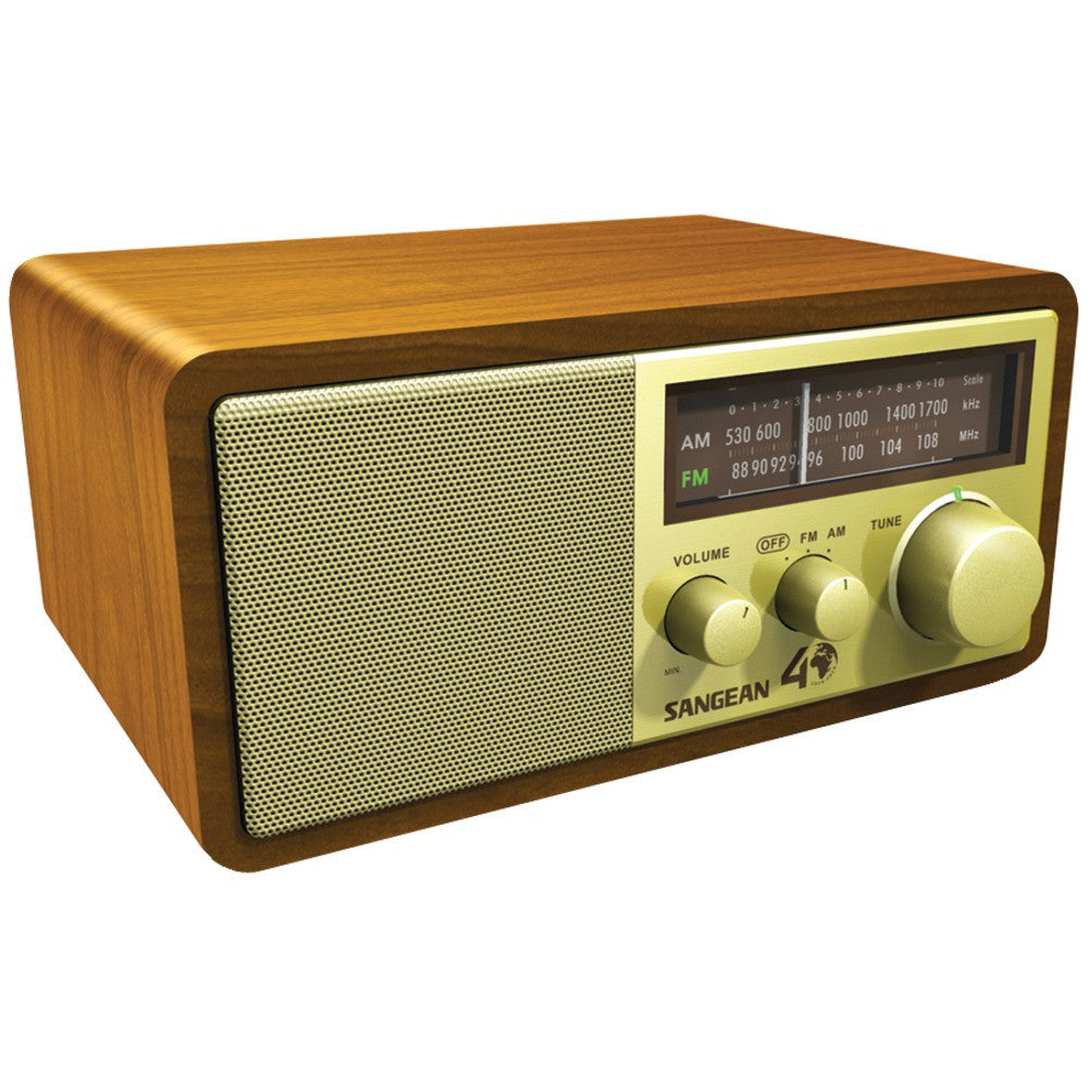 Sangean 40th Anniversary Edition Hi-fi Tabletop Radio