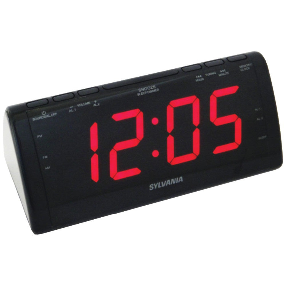Sylvania Jumbo Digital Clock Radio