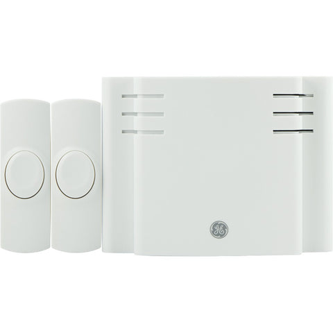 Ge Battery-operated 8 Melody Door Chime With 2 Push Buttons