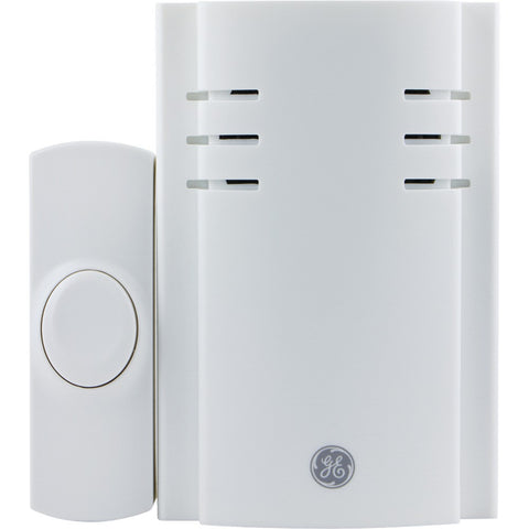 Ge 8 Melody Plug-in Chime With 1 Push Button