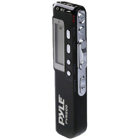 Pyle Digital Voice Recorder With 4gb Built-in Memory